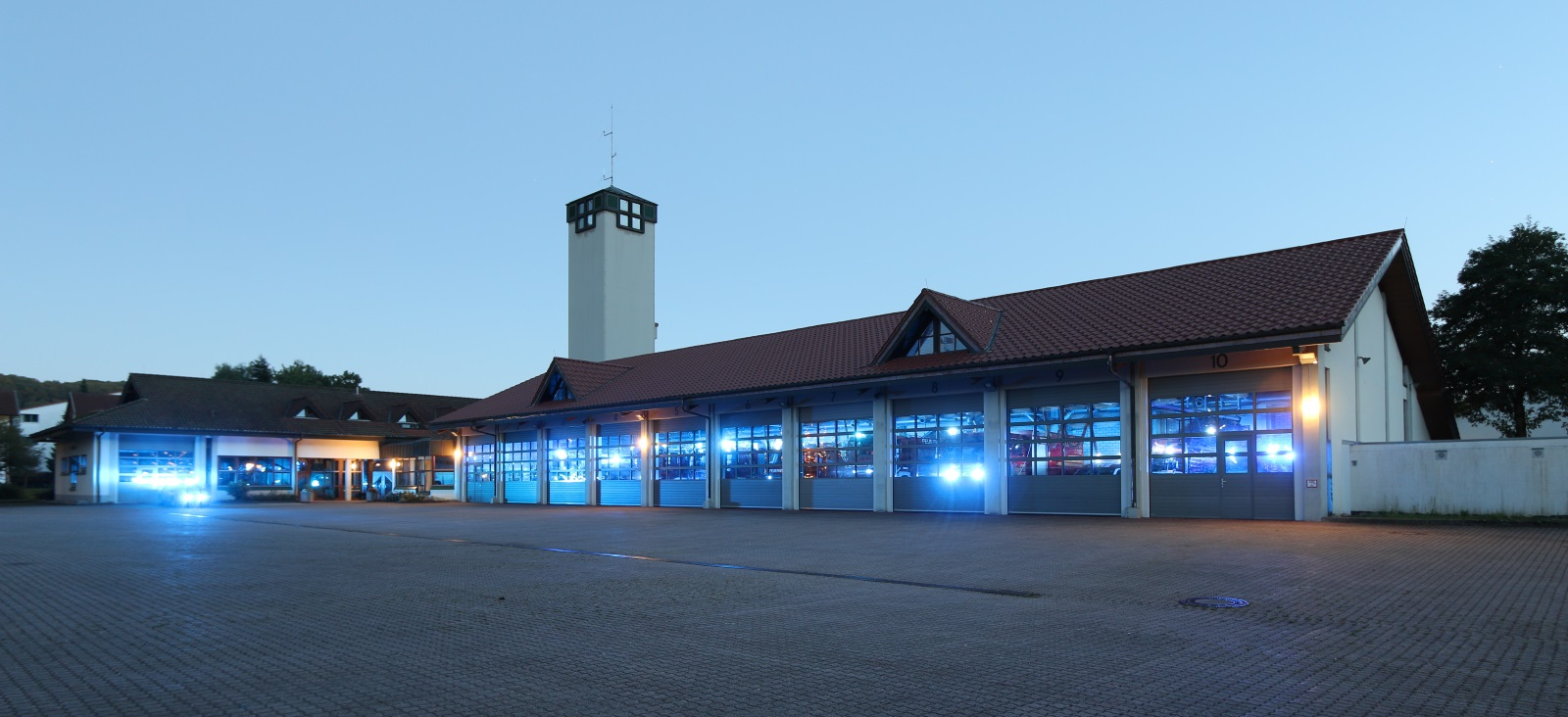 Das Feuerwehrgerätehaus in Schopfheim
