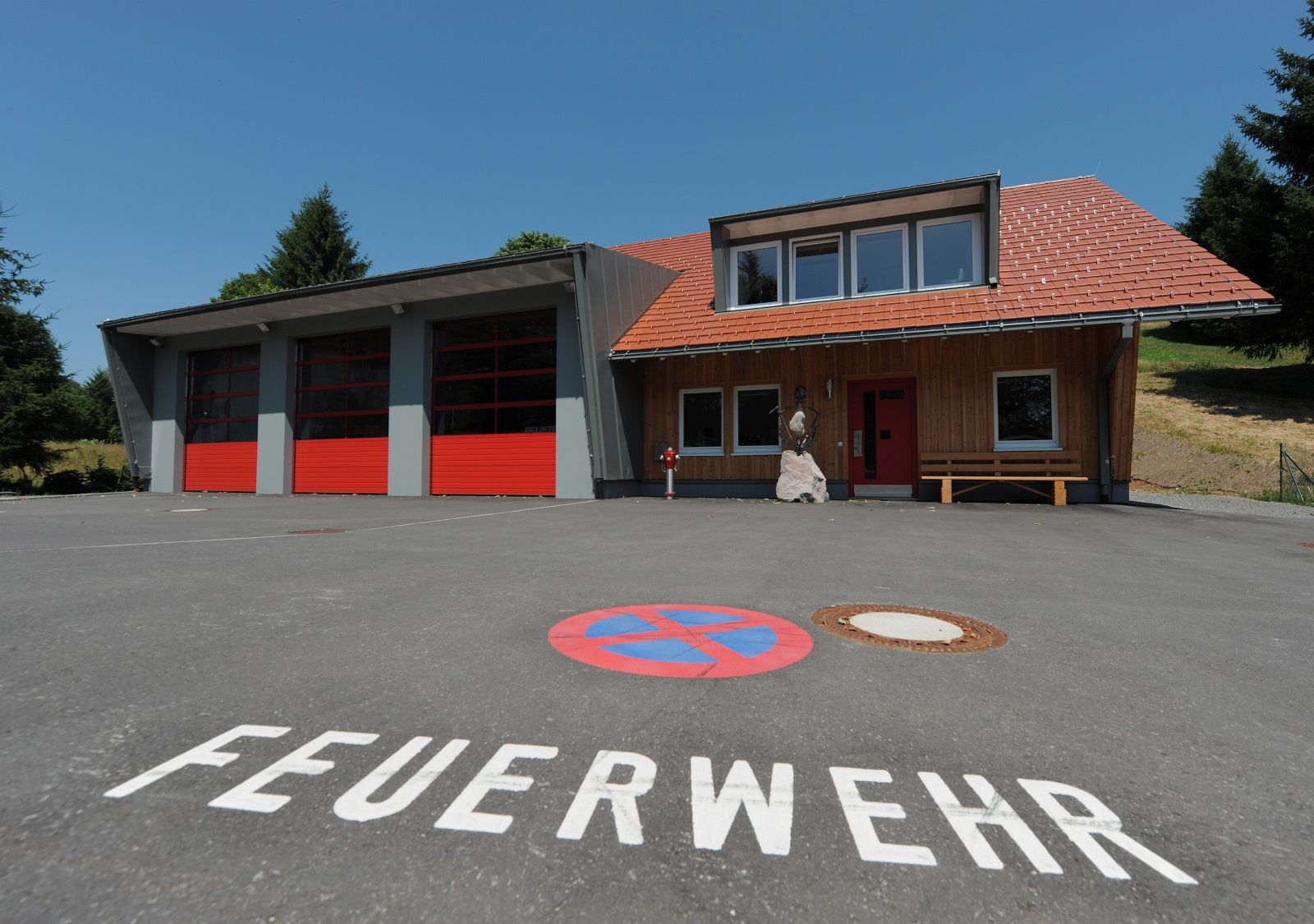 Die Feuerwehr in Gersbach