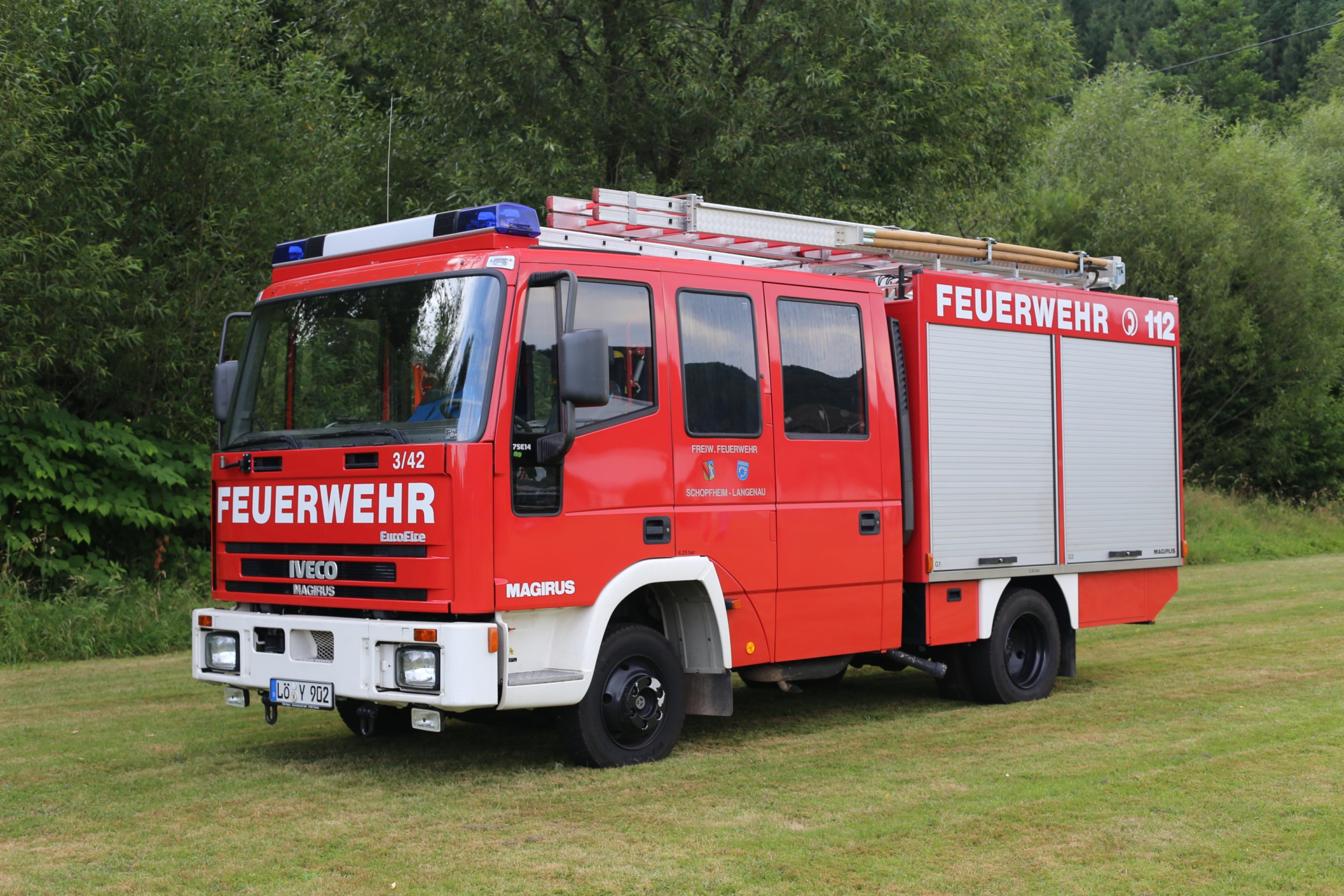 LF8/6 Iveco, Funkname Schopfheim 3/42, Bj. 1999