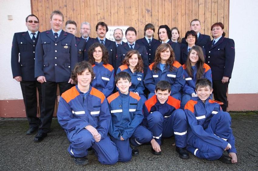 Die Mannschaft der Abteilung Kürnberg