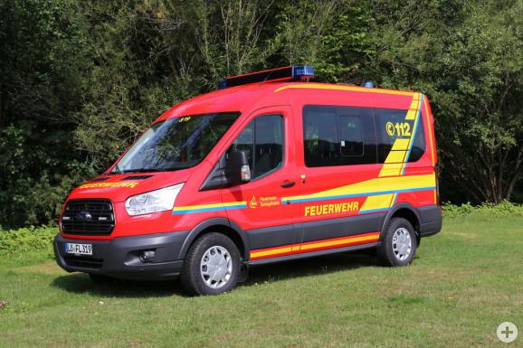 MTW Ford Transit, Funkname Schopfheim 3/19, Bj. 2018