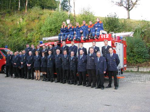 Die Mannschaft der Abteilung Raitbach