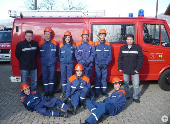 Die Jugendfeuerwehr der Abteilung Kürnberg