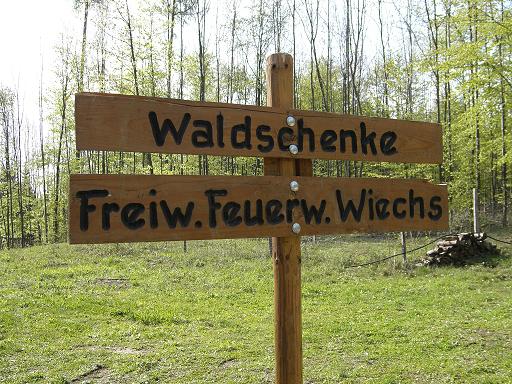 1. Mai Schänke in Wiechs
